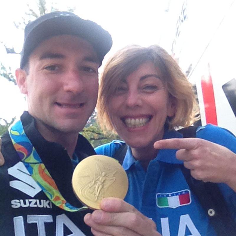 Con il campione olimpico Rio2016, Elia Viviani