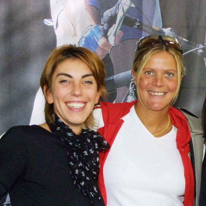 Con la due volte campionessa Olimpica, Paola Pezzo Foto di fabriziodelmati.com